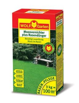 WOLF LW 100 Moosvernichter und Rasendünger 3kg