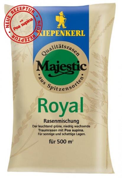Majestic Royal Premium-Schattenrasen mit Poa supina