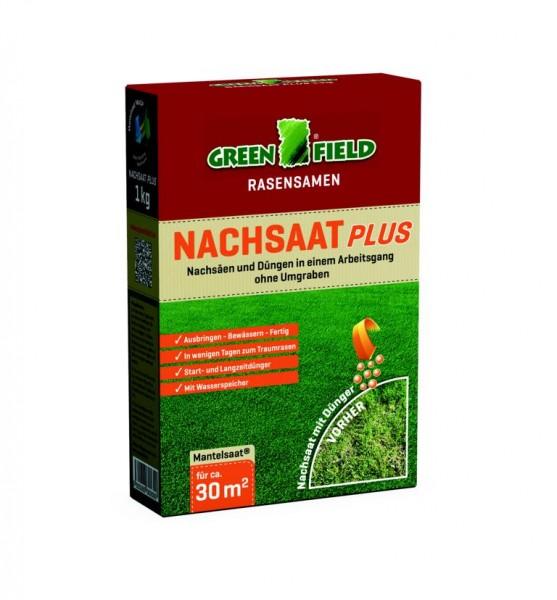 Greenfield Nachsaat Plus Rasenmischung 1kg