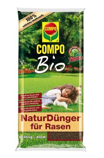 COMPO organischer Bio NaturDünger für Rasen