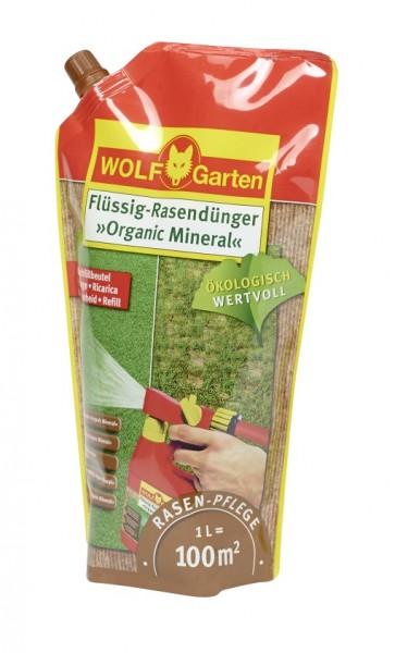 Wolf-Garten LO 100 R Organic-Mineral Flüssig-Rasendünger Nachfüllpack