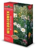 Greenfield Wildblumen- Kräuterwiese ohne Gräser 1kg Saatgut