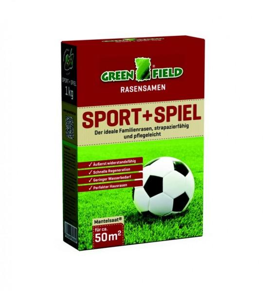 Greenfield Sport und Spiel Rasensamen 1 kg