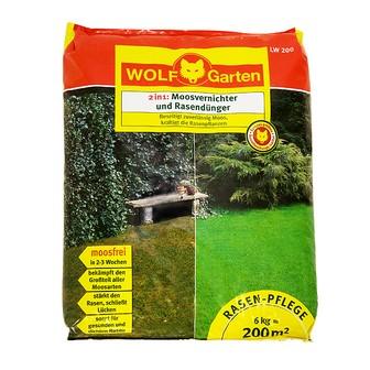 WOLF LW 200 Moosvernichter und Rasendünger 6kg