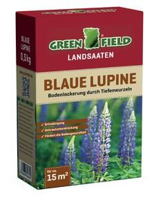Greenfield Landsaat - Mischung blaue Lupine 500 Gramm