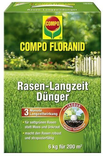 COMPO Floranid Rasen-Langzeitdünger 6 kg