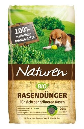 NATUREN Bio Rasendünger für 500qm 20 kg