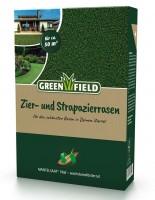Greenfield Zier + Strapazierrasen Mantelsaat® Vital