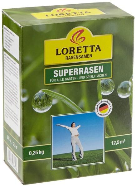 Loretta Superrasen 0,25 kg Rasensamen