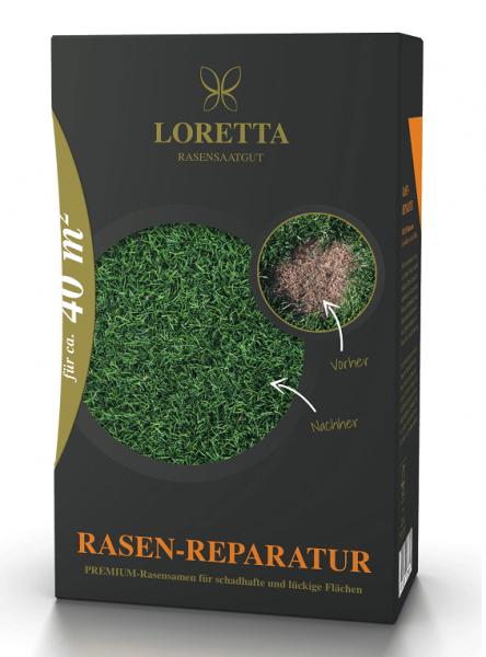 Loretta Rasen-Reparatur Premiumnachsaat mit Mantelsaat