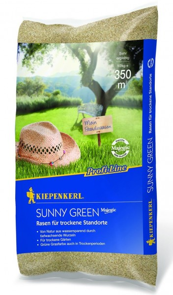 Kiepenkerl Profi Line Sunny Green Rasen für trockenen Boden