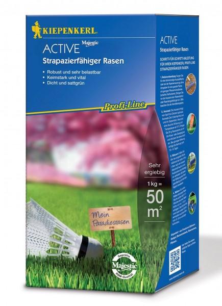 Kiepenkerl Majestic 10kg Aktiv Rasenmischung Garten Premium Samen Wachstum