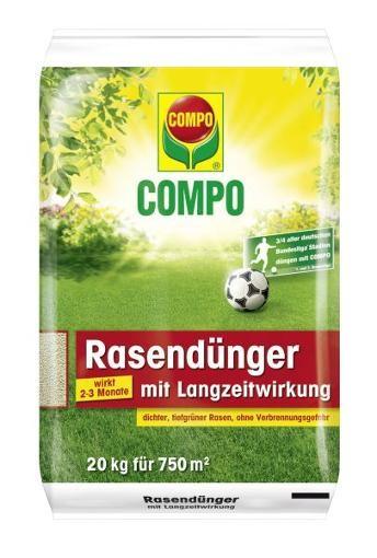 COMPO Rasendünger mit Langzeitwirkung 20 kg