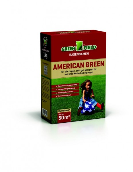 Greenfield American Green Rasenmischung 1 kg
