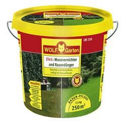 WOLF LW 250 Moosvernichter und Rasendünger im Eimer 7,5kg