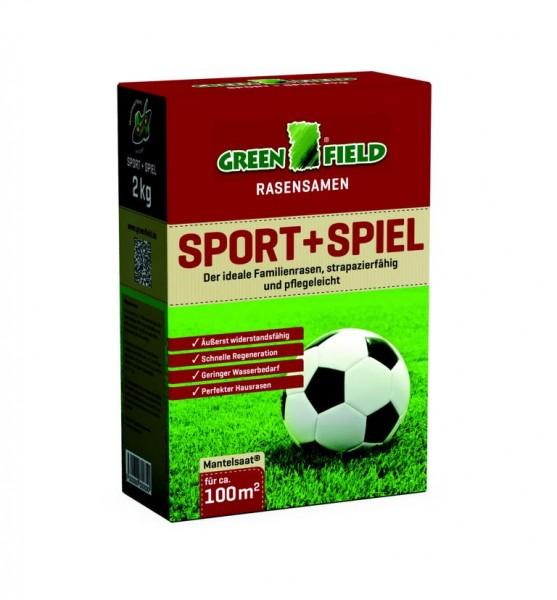 Greenfield Sport und Spiel Rasensamen 2 kg