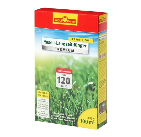 Wolf-Garten LE Premium Langzeitrasendünger für 120 Tage