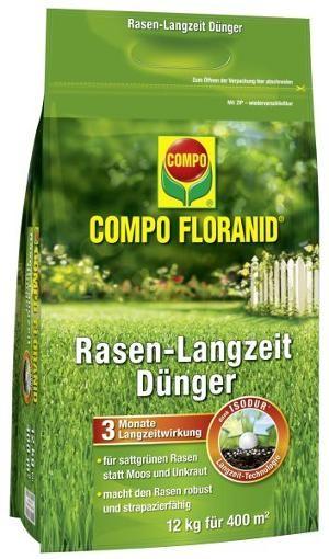 COMPO Floranid Rasen-Langzeitdünger 12 kg