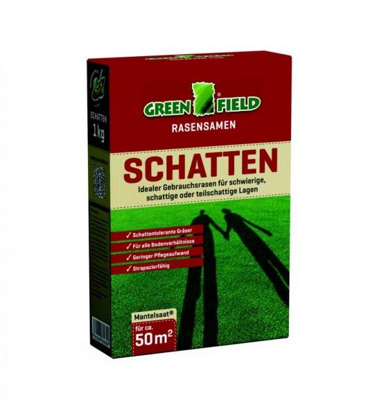 Greenfield Schattenrasen Rasensamen 1 kg